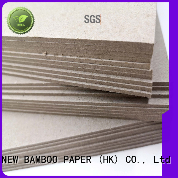 NEW BAMBOO PAPER fine- quality grey board thickness from manufacturer for desk calendars