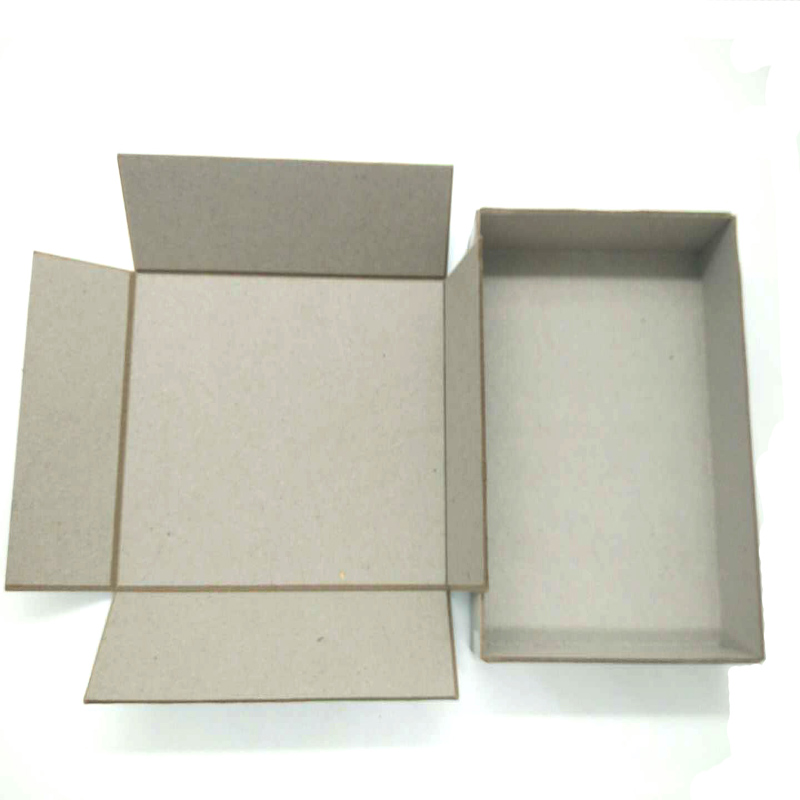 NEW BAMBOO PAPER chipboard grey cardboard sheets at discount for hardcover books-3
