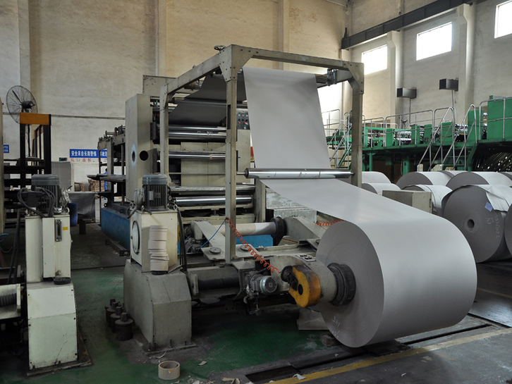Grey paperboard production process