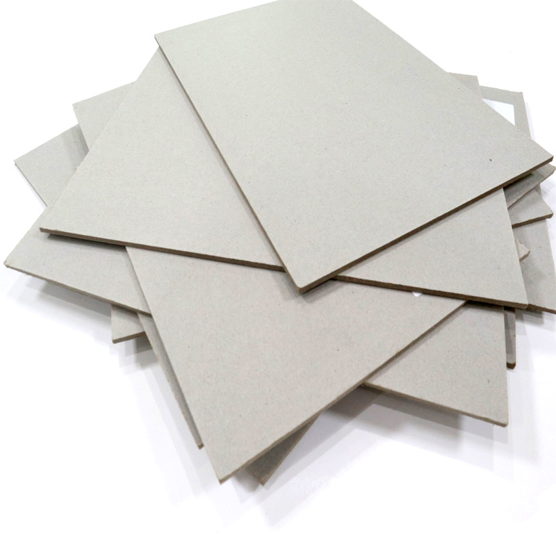 NEW BAMBOO PAPER inexpensive grey chipboard sheets bulk production for book covers-3