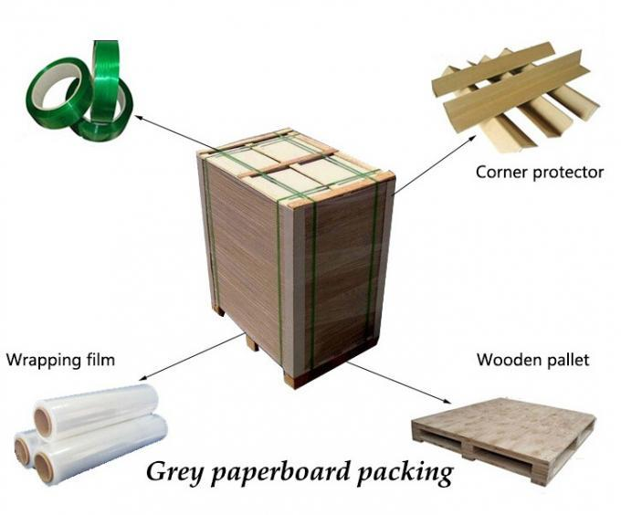 good-package grey board uses reels factory price for hardcover books
