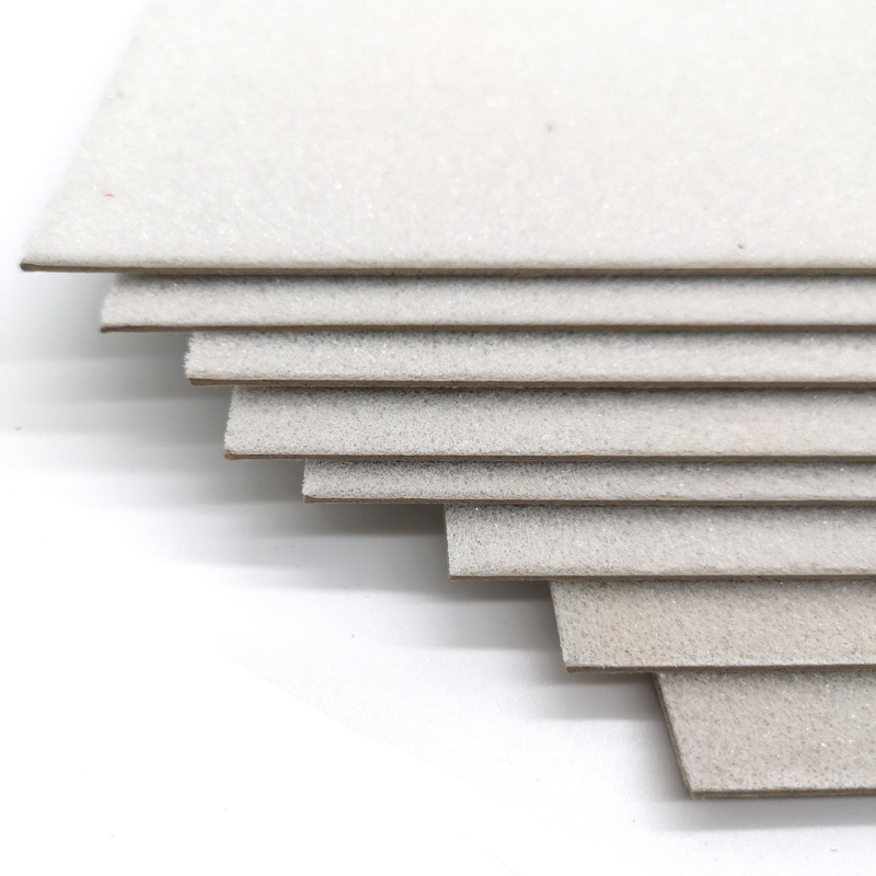 Customized 2mm sponge laminated 600gsm grey board