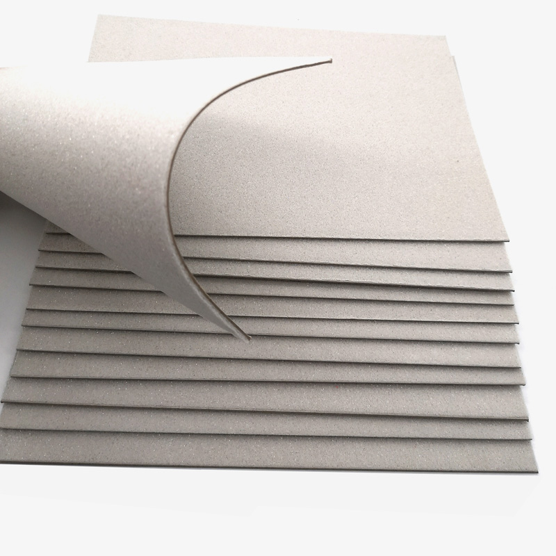 NEW BAMBOO PAPER coated foam core board 4x8 factory price for book covers-1