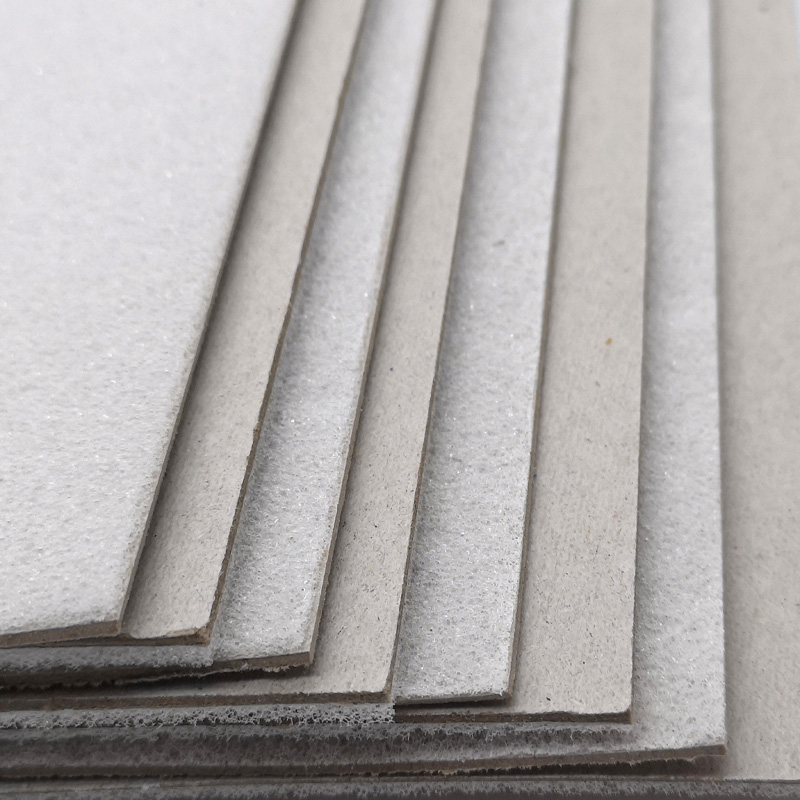NEW BAMBOO PAPER coated foam core board 4x8 factory price for book covers-2