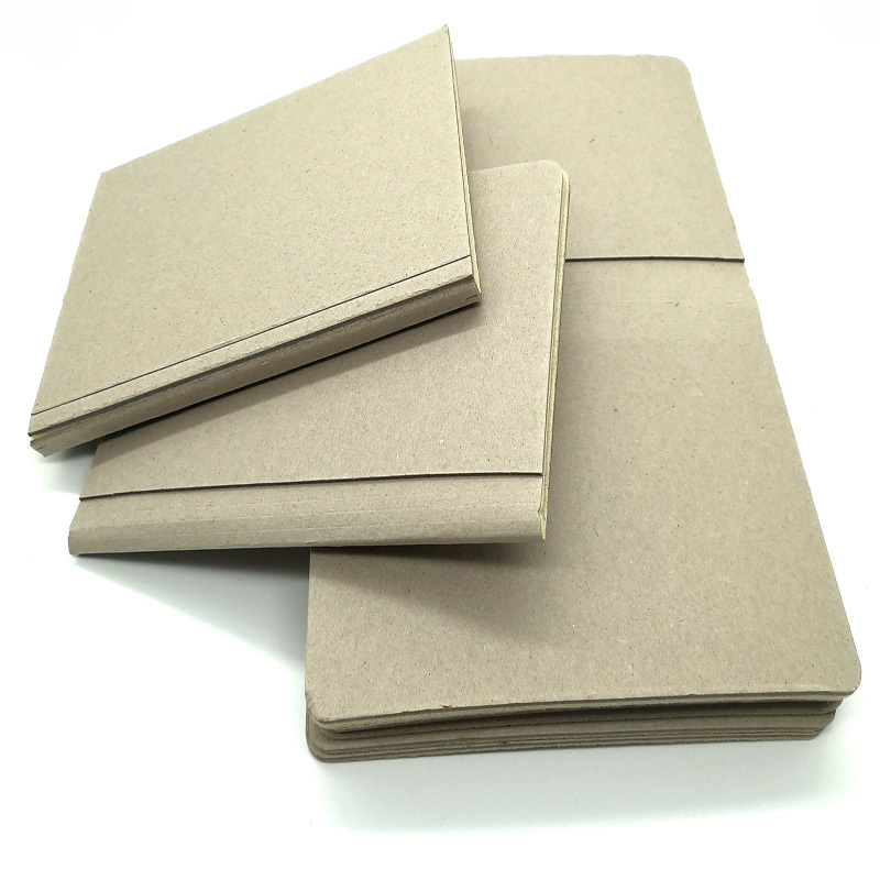 Making notebook cover material coated gray board paper foam board