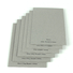 NEW BAMBOO PAPER unbleached carton gris 2mm buy now for photo frames