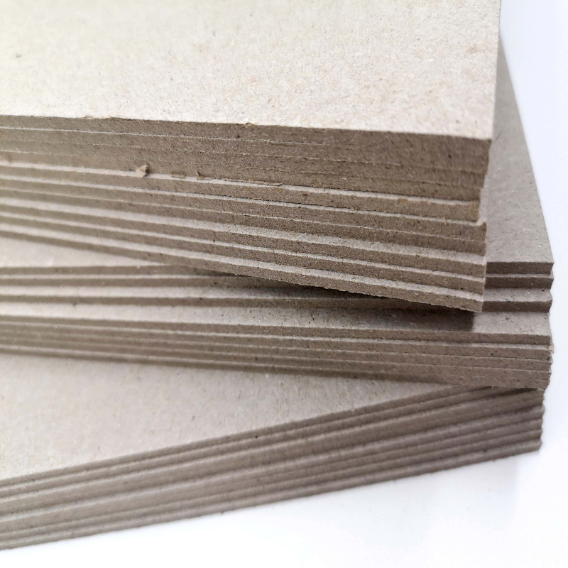 1000gsm customized any size paper rigid gray card board