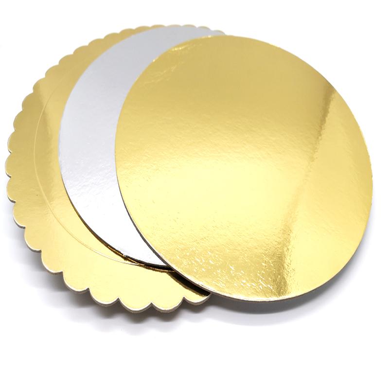 Cake Base Board Golden/SilverBoards