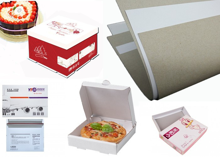 useful coated duplex board with grey back grey long-term-use for shoe boxes
