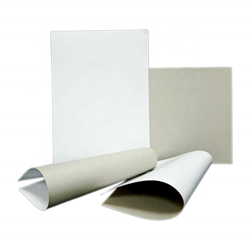 Recycled Material Grey Back Duplex Paper Sheet for Package Boxes