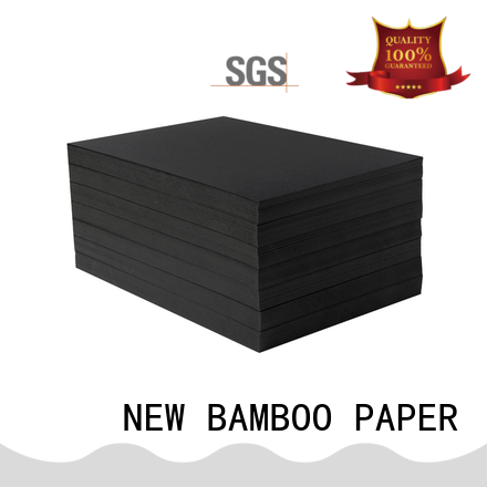 NEW BAMBOO PAPER scientific black cardboard widely-use for photo album