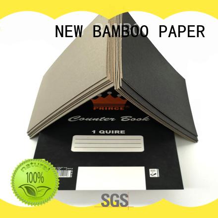 NEW BAMBOO PAPER reels black cardboard sheets certifications for speaker gasket
