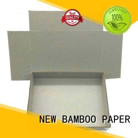 NEW BAMBOO PAPER folding gray chipboard inquire now for desk calendars