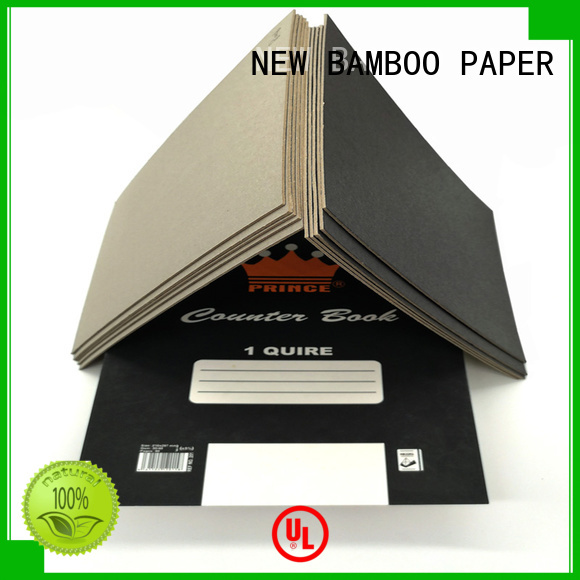 NEW BAMBOO PAPER new-arrival black chipboard for gift box