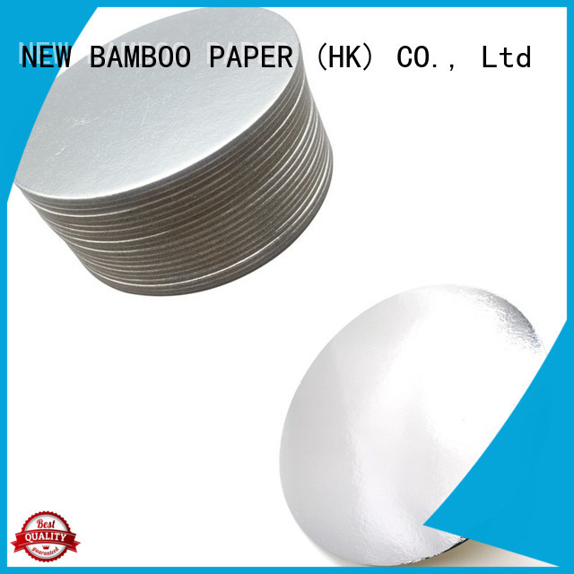 NEW BAMBOO PAPER goldensilver cake boards gold free design for bread packaging