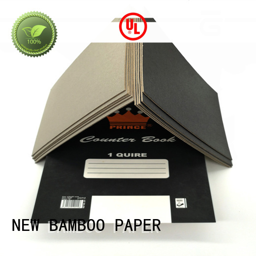NEW BAMBOO PAPER side black cardboard sheets vendor for photo album