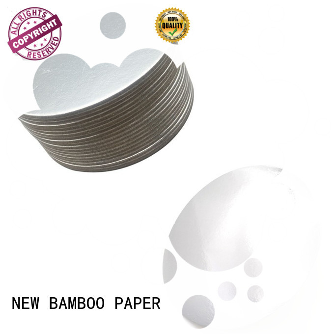 NEW BAMBOO PAPER base metallic board paper from manufacturer for gift boxes