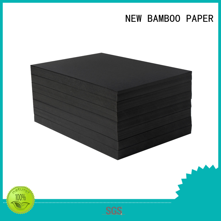 hot-sale black cardboard paper uncoated free quote for photo frame