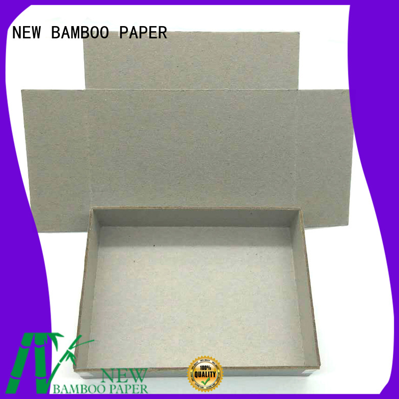 NEW BAMBOO PAPER first-rate grey board thickness for hardcover books