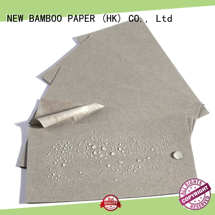 NEW BAMBOO PAPER durable pe coated paper sheet long-term-use for packaging