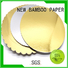 NEW BAMBOO PAPER board gold cardboard free design for packaging