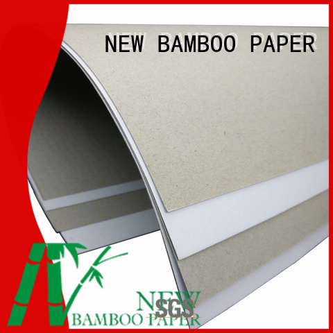good-package coated duplex board white from manufacturer for cloth boxes
