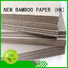 NEW BAMBOO PAPER wine laminated grey board at discount for book covers