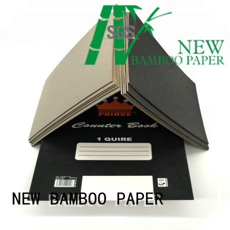 NEW BAMBOO PAPER hot-sale black cardboard supplier for hang tag