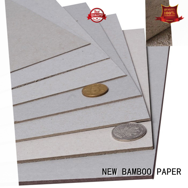 NEW BAMBOO PAPER chipboard 2mm grey board at discount for boxes