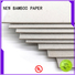NEW BAMBOO PAPER nice polyfoam board factory price for folder covers