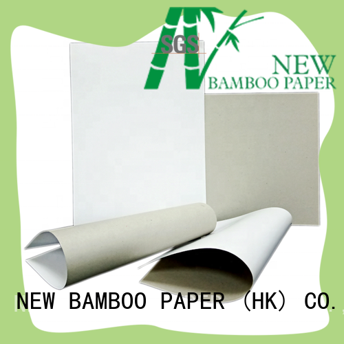 duplex paper board printing factory price for cloth boxes