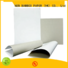 NEW BAMBOO PAPER new-arrival coated duplex board with grey back bulk production for shoe boxes