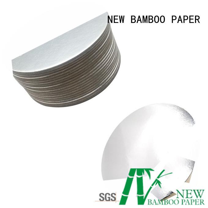 NEW BAMBOO PAPER bakery metallic foil paper order now for dessert packaging