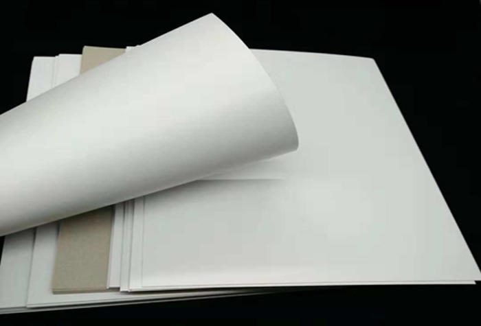 NEW BAMBOO PAPER useful coated duplex board with grey back bulk production for crafts-1