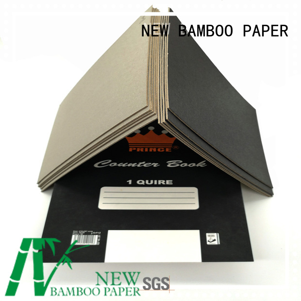 NEW BAMBOO PAPER single black paper sheet long-term-use for shopping bag