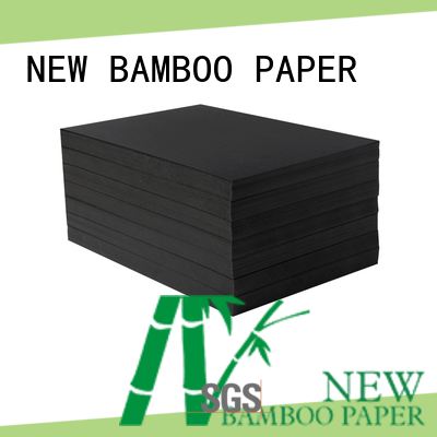 NEW BAMBOO PAPER excellent black cardboard free design for photo album