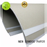 new-arrival Grey board with white back back from manufacturer for box packaging