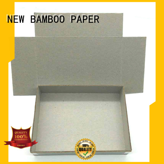 NEW BAMBOO PAPER inexpensive grey paper board for stationery