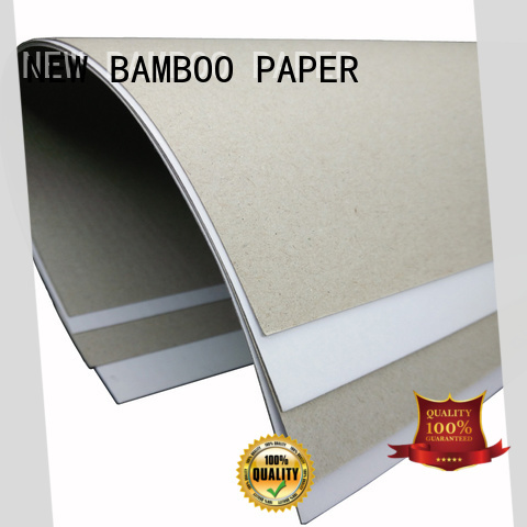 NEW BAMBOO PAPER mixed duplex paperboard free design for box packaging