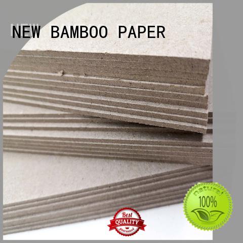 NEW BAMBOO PAPER cardboard grey paperboard for desk calendars