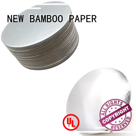 NEW BAMBOO PAPER grade cake board paper for wholesale for dessert packaging