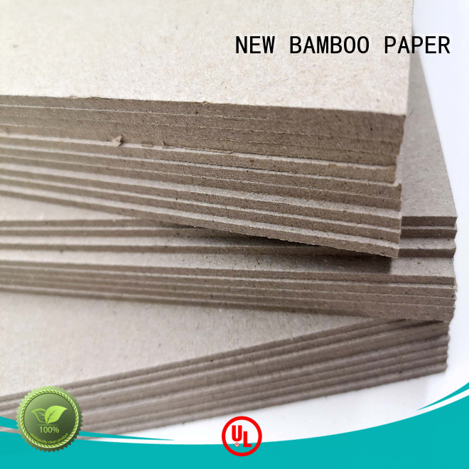 NEW BAMBOO PAPER wine grey cardboard sheets factory price for shirt accessories
