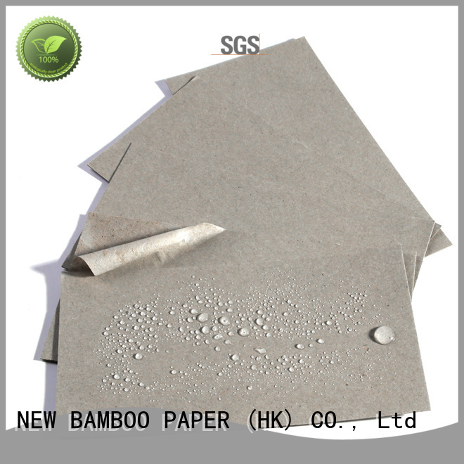 NEW BAMBOO PAPER sheets pe coated paper sheet  supply for frozen food