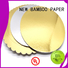 NEW BAMBOO PAPER fine- quality metallic foil paper free quote for dessert packaging