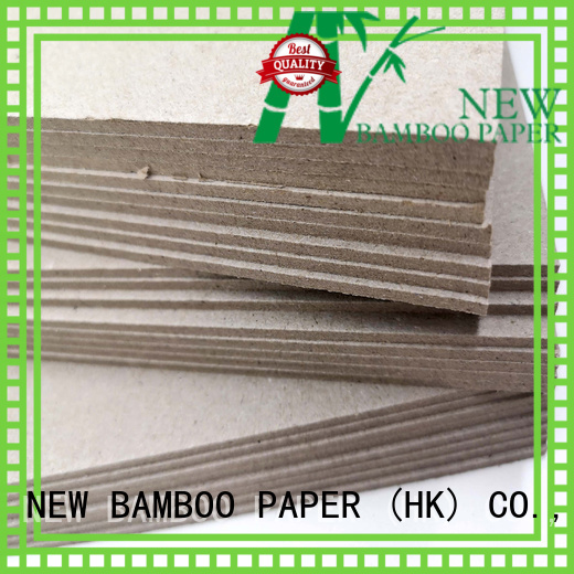 NEW BAMBOO PAPER uncoated grey paperboard at discount for book covers