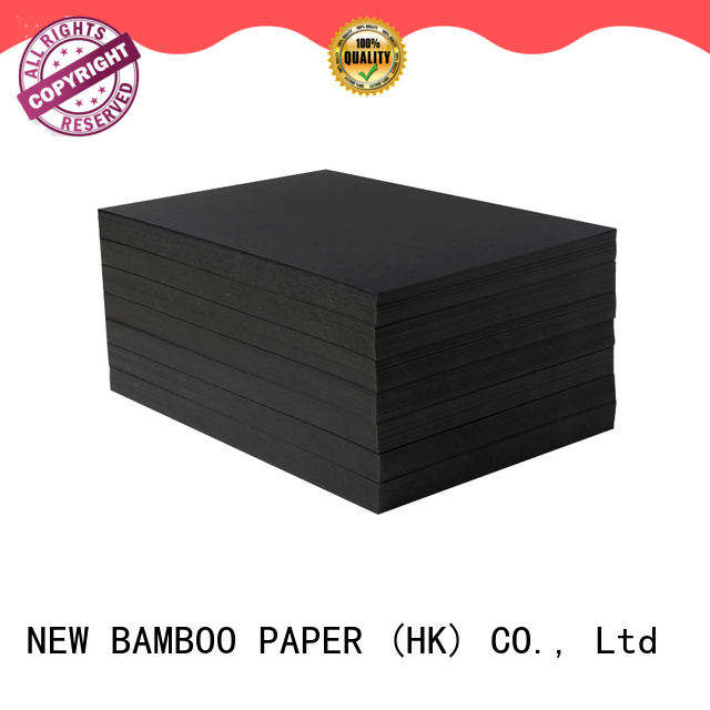 NEW BAMBOO PAPER black black cardboard sheets widely-use for hang tag
