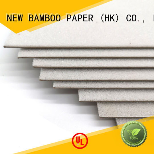 NEW BAMBOO PAPER paperboard foam core board from manufacturer for hardcover books