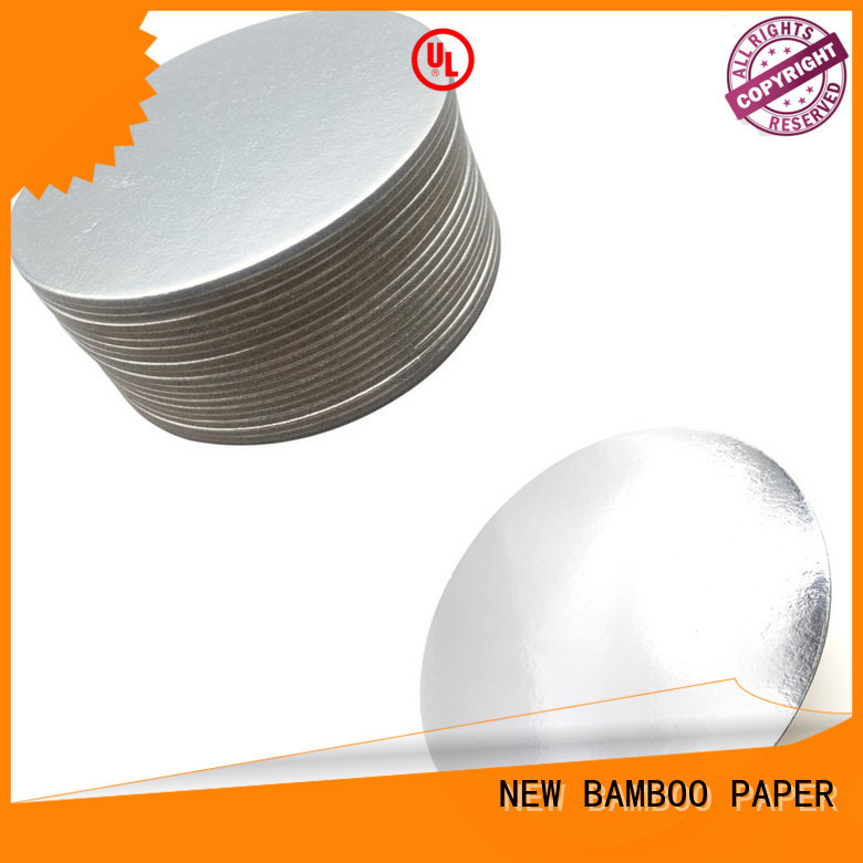 NEW BAMBOO PAPER goldensilver  cake board rounds check now for packaging