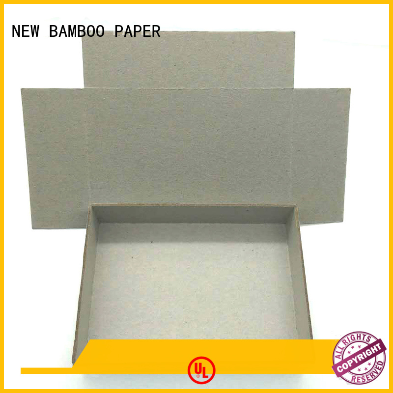 NEW BAMBOO PAPER gray grey paperboard for wholesale for hardcover books