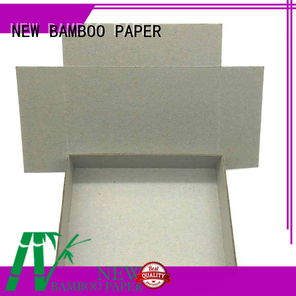 laminated grey paperboard for wholesale for book covers NEW BAMBOO PAPER